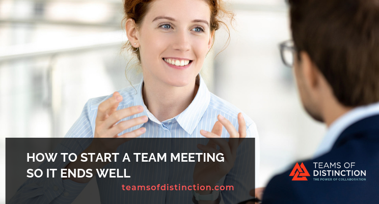 Starting team meetings